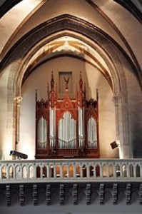 Orgue de Bégard, tribune