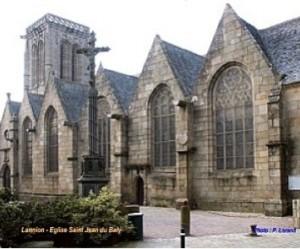 Eglise Saint Jean du Baly, Lannion