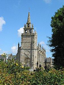 Clocher de l'église saint Yves, de Minihy-Tréguier