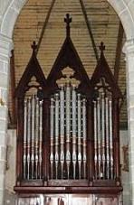 Montre de l'orgue de Plouaret