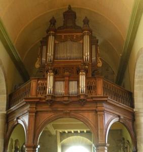 Orgue Clergeau de l'église de Pommerit-Jaudy
