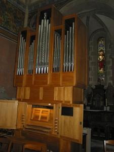 l'orgue C.Guerrier (vue d'ensemble)
