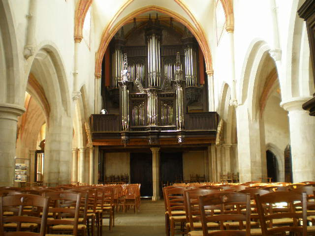 Buffet de l'orgue de La Roche-Derrien