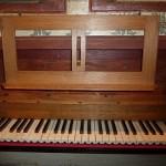 Clavier de l'orgue de Lanvellec