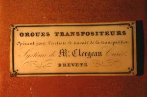 CLERGEAU.cartouche-photo Maurice Rousseau