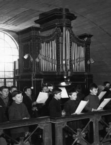 Orgue Loret de l'abbaye de Langonnet (jusqu'en 1952)