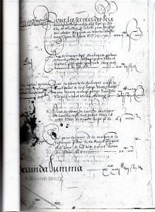 Registre des comptes de Tréguier en 1597
