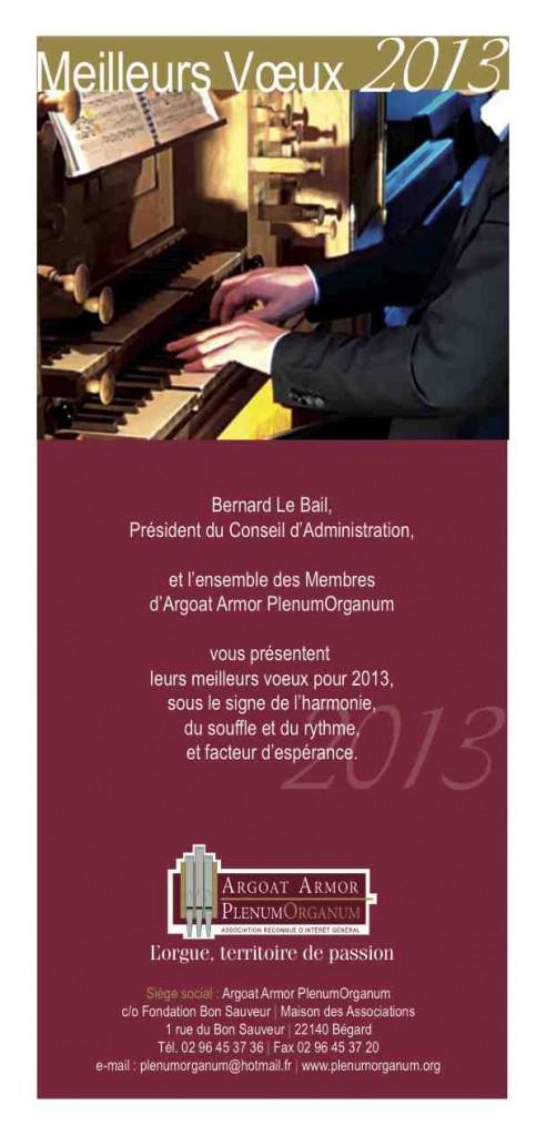 Vœux AAPO 2013