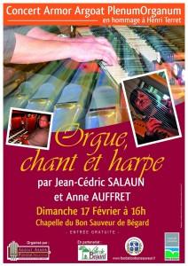 Concert Anne Auffret - Jean-Cédric Salaun