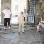Visite de la collégiale de Rostrenen