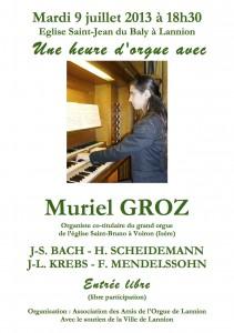 Concert Muriel Groz