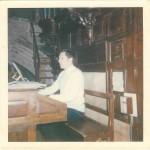 Michel Le Roux sur cette console de 1948