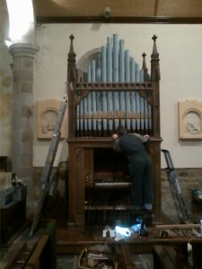 Orgue Nelson Hall de Penvénan