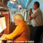 Pour la journée du patrimoine 2016, Orgue et Bombarde, violons & harmonica ont résonné dans l'Èglise Saint Pierre de Prat.