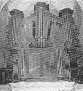 Orgue de Saint-Jean-du-Baly en 1970