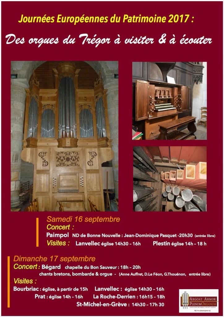 affiche visites orgues patrimoine 2017