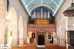 Prat-orgue nef