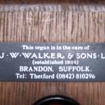 JW Walker_plaque d'adresse