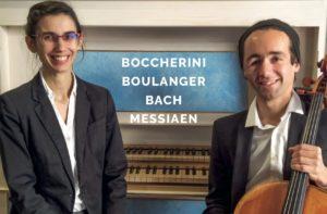 Concert Orgue et Violoncelle de Muriel Gros et Florian Nauche à Lannoion